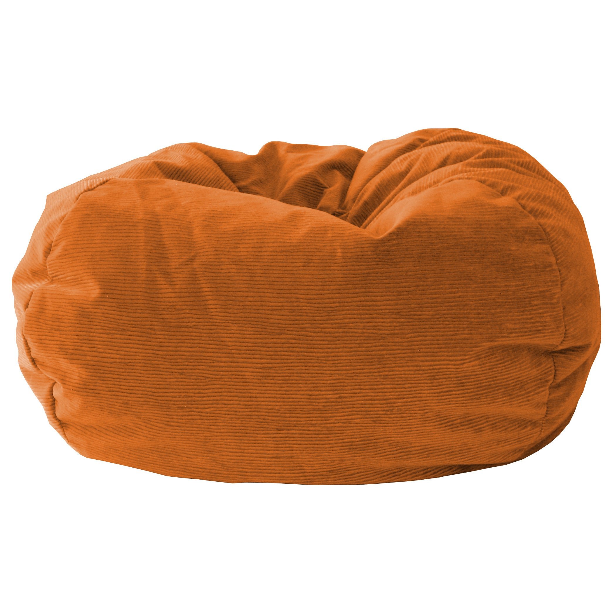 Sensational Gold Medal Bean Bag Microsuede Corduroy Small 105 Harvest Orange Inzonedesignstudio Interior Chair Design Inzonedesignstudiocom