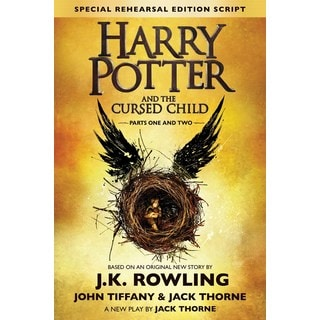 Harry Potter and the Cursed Child - Parts One and Two: The Official Script Book of the Original West End Producti... (Hardcover)