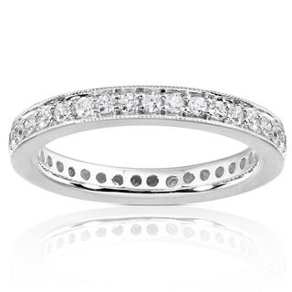 Link to Annello by Kobelli 14k Gold 1/2ct TDW Diamond Eternity Band Similar Items in Wedding Rings
