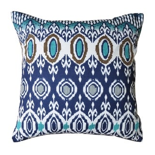 Link to Cottage Home Risa  Cotton 18 Inch Throw Pillow Similar Items in Decorative Accessories