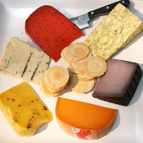 igourmetA Rainbow of Colorful Cheeses