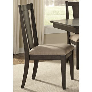 Patterson Espresso Cottage Casual Splat Back Dinette Chair