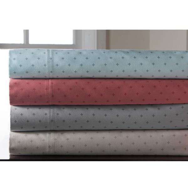 Canterbury Diamond Sateen Cotton Sheet Set