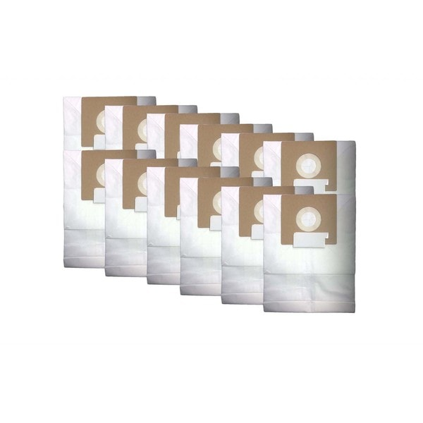 12pk Replacement Bags, Fits Oreck Quest MC1000 Canisters, Compatible with Part PK12MC1000