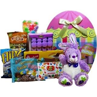 Easter Egg-stravaganza Plush Bunny Rabbit Gift Box