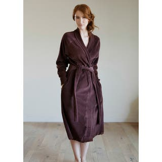 Organic Cotton Velour Robe|https://ak1.ostkcdn.com/images/products/11332917/P18308376.jpg?impolicy=medium