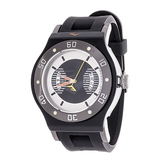 Everlast Jumbo Men's Black Round Diver Analog Rubber Watch