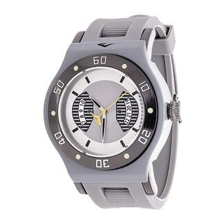 Everlast Jumbo Men's Grey Round Diver Analog Rubber Watch