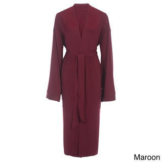 Rayon from Bamboo Viscose Robe