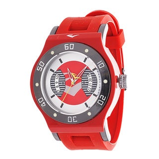 Everlast Jumbo Men's Red Round Diver Analog Rubber Watch