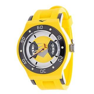 Everlast Jumbo Men's Yellow Round Diver Analog Rubber Watch