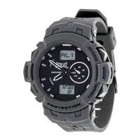 Everlast Sport Men's Analog Digital Round Watch with Grey  Rubber Strap