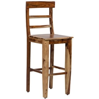 Porter Taos Sheesham 30-inch Bar Height Dining Chair (India)