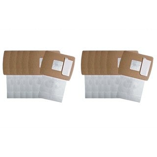 12 Oreck Buster B Allergen Paper Bags Part # PKBB12DW