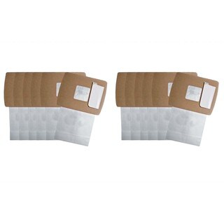 12pk Replacement Paper Bags, Fits Oreck Buster B, Compatible with Part PKBB12DW