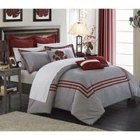 Chic Home Cornelius 12-Piece King Sized Bed in a Bag Comforter Set