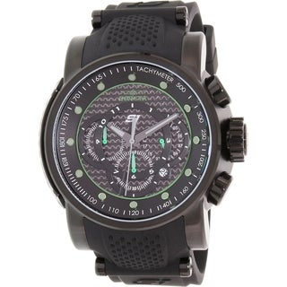 Invicta Men's Black Silicone S1 Rally 19325 Swiss Chronograph Watch