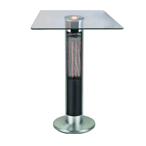 Outdoor Infrared Heating Tower Bistro Table