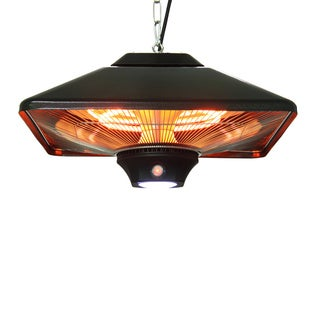 EnerG+ HEA-2188LEd-B Hanging Electric Infrared Outdoor Heater
