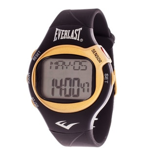 Everlast Black HR5 Finger Touch Heart Rate Monitor Watch
