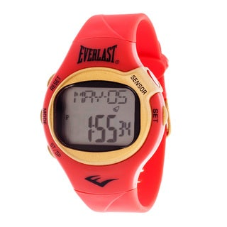 Everlast Red HR5 Finger Touch Heart Rate Monitor Watch (Refurbished)