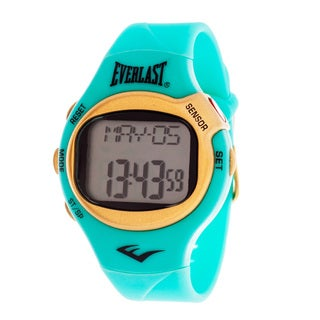 Everlast Turquoise HR5 Finger Touch Heart Rate Monitor Watch (Refurbished)