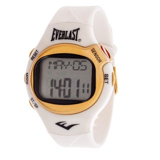 Everlast White HR5 Finger Touch Heart Rate Monitor Watch