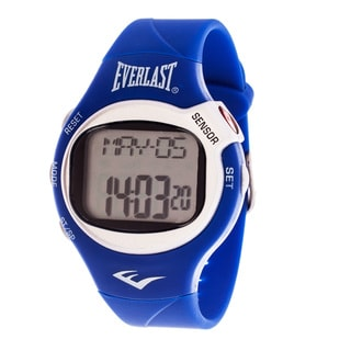 Everlast Blue HR5 Finger Touch Heart Rate Monitor Watch