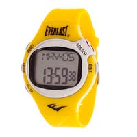 Everlast Yellow HR5 Finger Touch Heart Rate Monitor Watch
