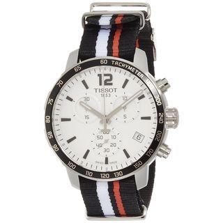 Tissot Men's T0954171703701 'Quickster' Chronograph Extra Band Black Nylon Watch