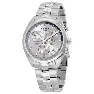Tissot Men's T1014171107100 'PR 100' Chronograph Stainless Steel Watch