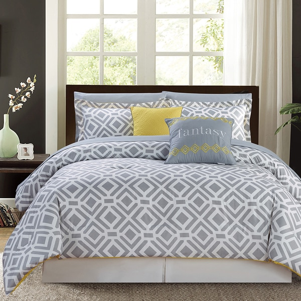 Cumberland Luxury 9-piece Bed-in-a-Bag Comforter Set