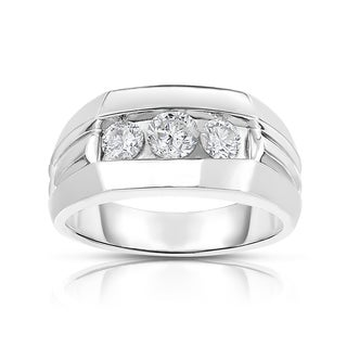 MWI Eloquence 14k White Gold, 1ct TDW Diamond Mens Wedding Ring|https://ak1.ostkcdn.com/images/products/11333433/P18308762.jpg?_ostk_perf_=percv&impolicy=medium