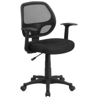 Harle Black Mesh Swivel Adjustable Office Chair