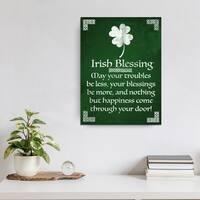 Ready2HangArt 'Irish Blessing' Canvas Art