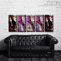 Ready2HangArt 'Urban Fashion II' 5-PC Canvas Art Set