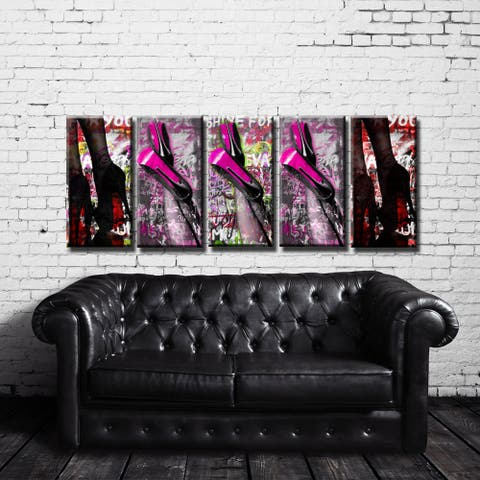 Ready2HangArt 'Urban Fashion II' 5-PC Canvas Art Set