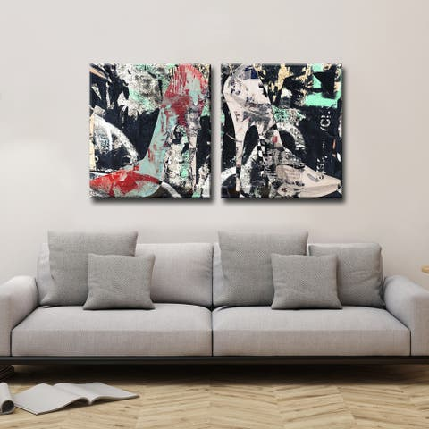 Ready2HangArt 'Urban Fashion XIX' High Heel Canvas Art