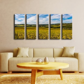 Ready2HangArt Bruce Bain 'Tuscan Landscape VI' 5-PC Canvas Art Set