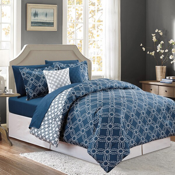 Coldwell Luxury 9-piece Bed-in-a-Bag Comforter Set