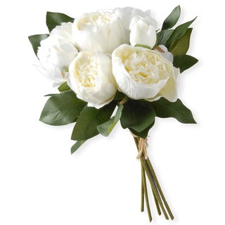 Link to National Tree Company White Peony Bundle Similar Items in Decorative Accessories