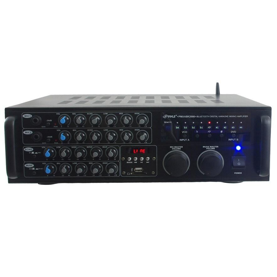 Pyle PMXAKB2000 2000-watt Bluetooth DJ Karaoke Mixer and ...