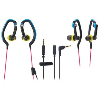 Audio-Technica SonicSport Clip-On Waterproof Headphones CKP200MC