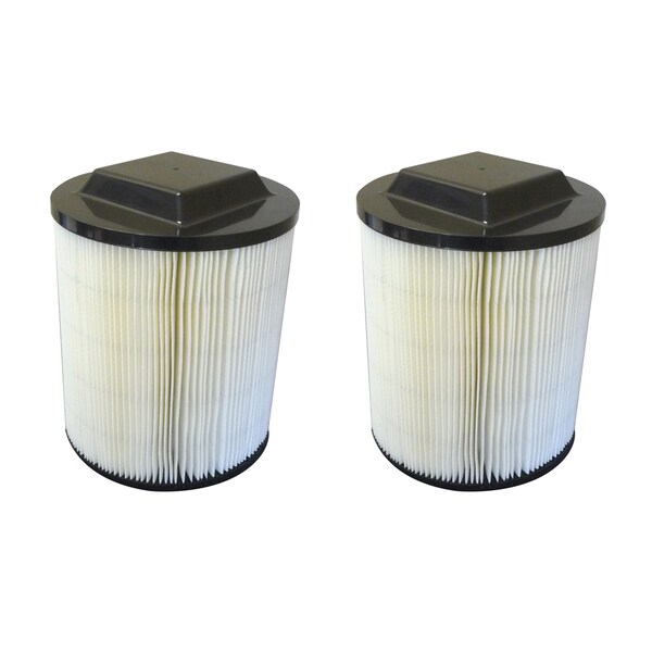 shop 2pk replacement filters, fits ridgid wet & dry vac 5 gal+ ...