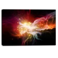 Designart - Elegance of Nebulae - Abstract Canvas Artwork