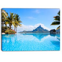 DesignArt - Bora Bora Landscape - Photography Canvas Art Print