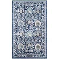 Safavieh Evoke Vintage Blue/ Ivory Distressed Rug - 3' x 5'
