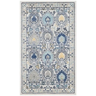 Safavieh Evoke Vintage Ivory / Grey Distressed Rug (3' x 5')