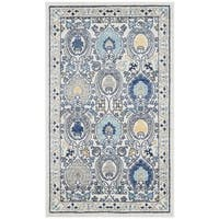 Safavieh Evoke Vintage Ivory / Grey Distressed Rug - 3' x 5'