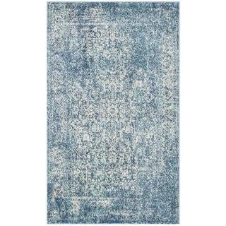 Safavieh Evoke Vintage Oriental Blue/ Ivory Distressed Rug (3' x 5')